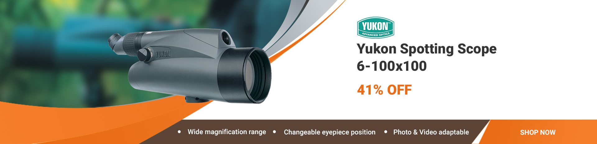 yukon-21031k-spotting scope