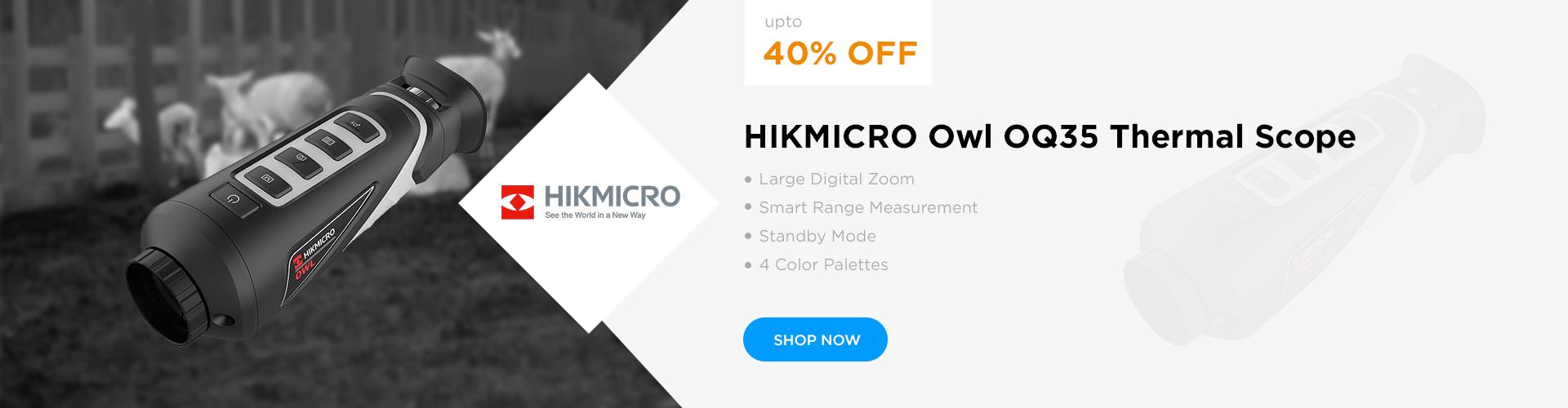 HIKMICRO Owl OQ35 Thermal Scope