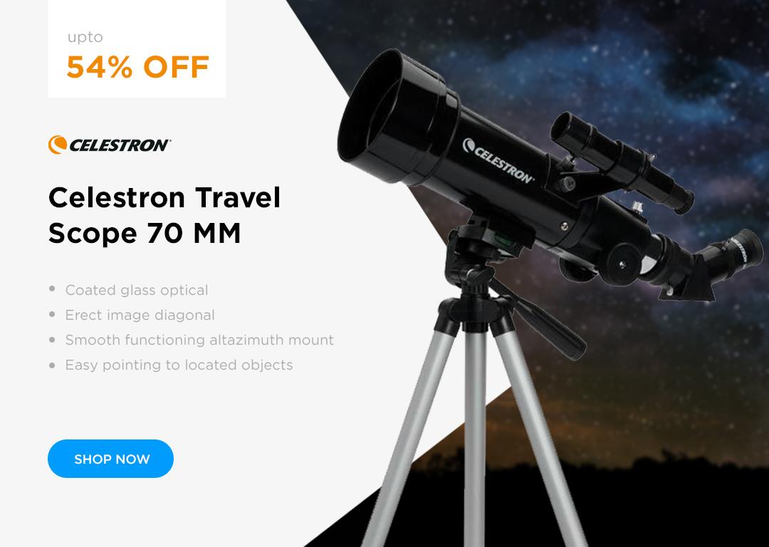 Celestron TravelScope 70mm Telescope